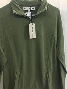 green roamer pullover