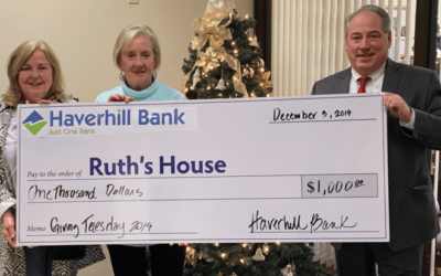 Haverhill Bank Partners with Ruth's House for a Successful Giving Tuesday